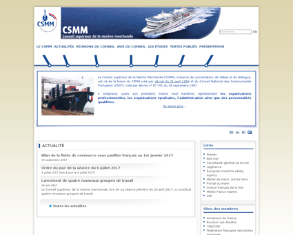 csmm.equipement.gouv.fr Marine