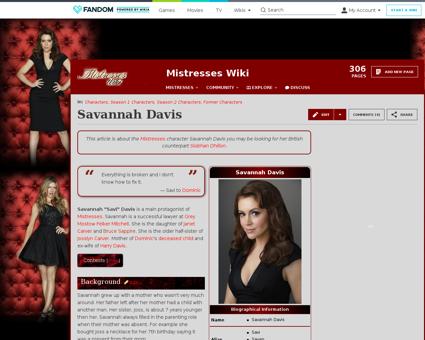 Savannah Davis Karen