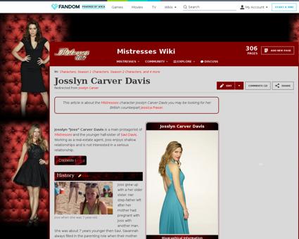 Josslyn Carver Karen