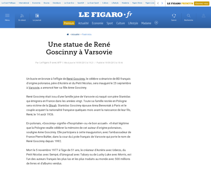 Goscinny. Rene