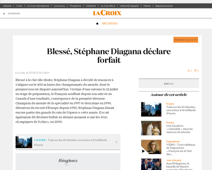Stephane DIAGANA