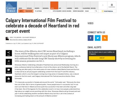 Calgary international film festival to c Lou