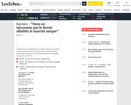 lesechos.fr Marine