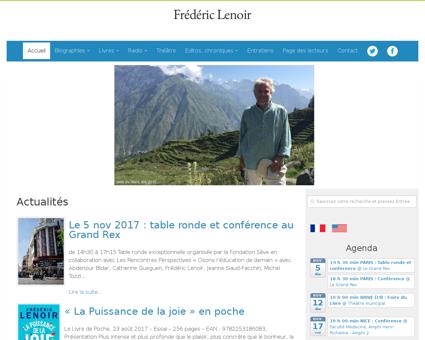 fredericlenoir.com Frederic