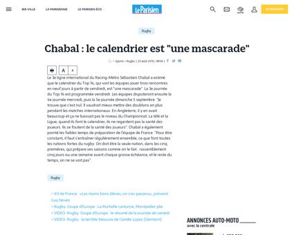 Chabal le calendrier est une mascarade 2 Sebastien