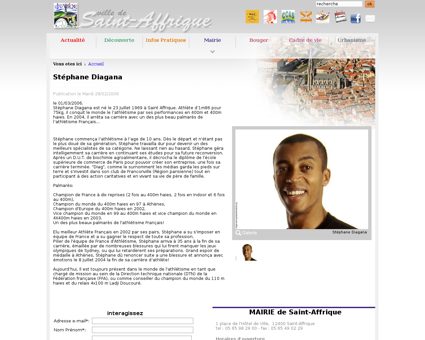 saintaffrique.com?art=30 Stephane