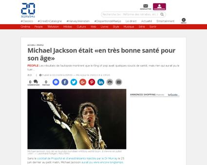 People Michael Jackson etait en tres bon Jordan