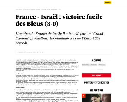 France israel victoirefacile des bleus 3 Zinedine