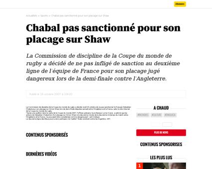 ?xtmc=chabal&xtcr=2 Sebastien