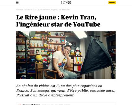 5 nouveaux humoristes de youtube a suivr Kevin
