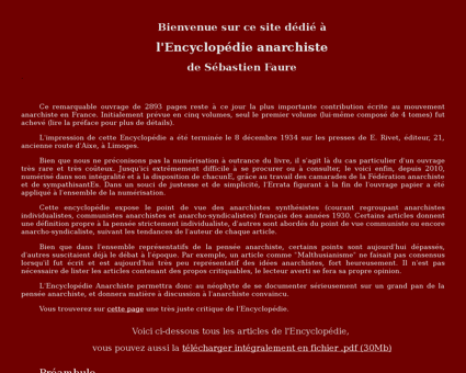 encyclopedie anarchiste.org Sebastien