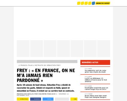 Sebastien FREY
