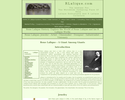 Rene lalique biography Rene