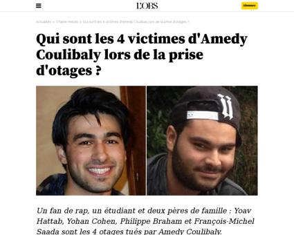 Qui sont les 4 victimes de la prise d ot Ahmed
