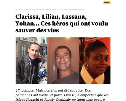 Clarissa lilian lassana yohan ces heros  Ahmed