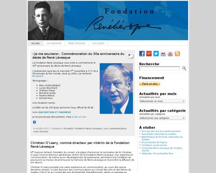 Fondationrene levesque.org Rene