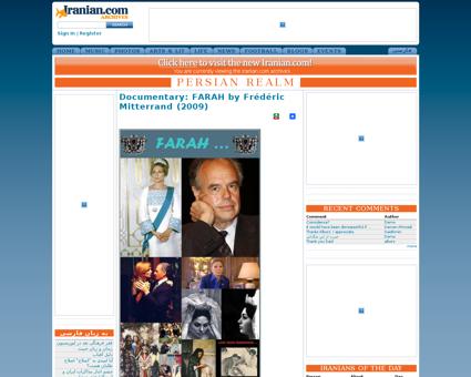 Documentary farah fr d ric mitterrand 20 Frederic