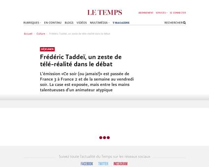 Frédéric Taddeï un ze Frederic