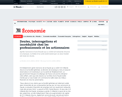 Interrogations et incredulite apres la f Jerome