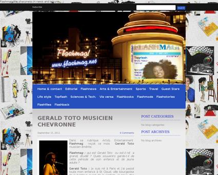 677683 gerald toto musicien chevronne Gerald