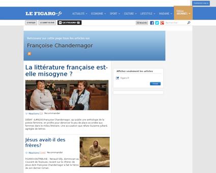 Francoise chandernagor Francoise