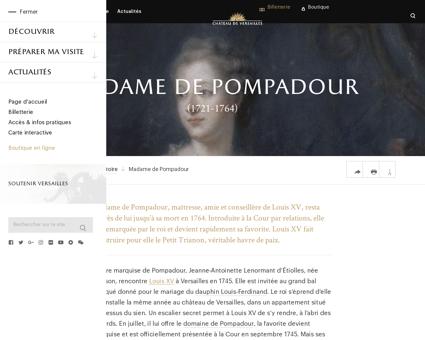 Madame de pompadour Jeanne