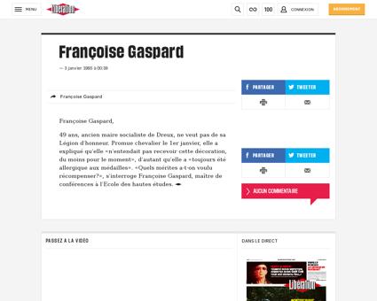 Francoise GASPARD