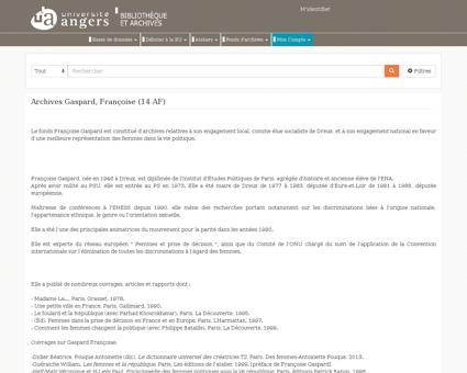 Archives gaspard francoise 14 af Francoise