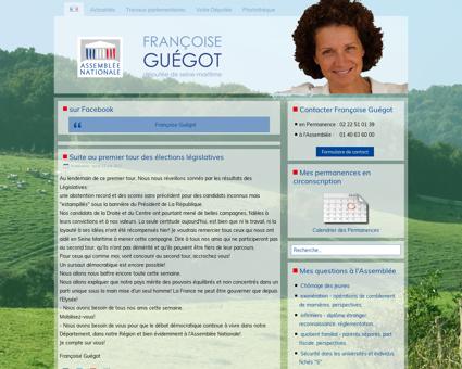 francoiseguegot.fr Francoise
