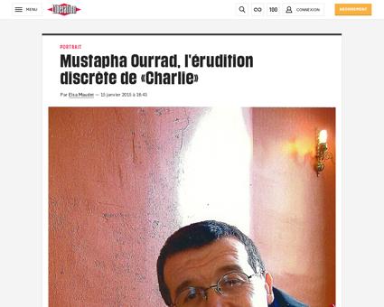Mustapha ourrad l erudition discrete de  Mustapha