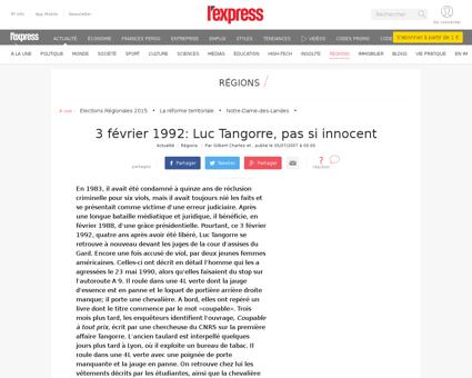 Luc TANGORRE