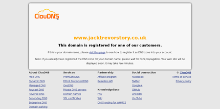 jacktrevorstory.co.uk Sebastien
