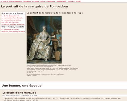 Marquise pompadour acc fr FR Jeanne