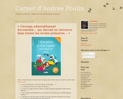 Andreepoulin.blogspot.com Andree