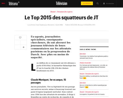 Le top 2015 des squatteurs de jt,140278 Frederic