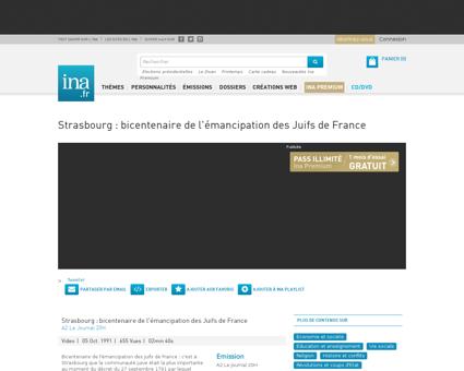 Strasbourg bicentenaire de l emancipatio Theo