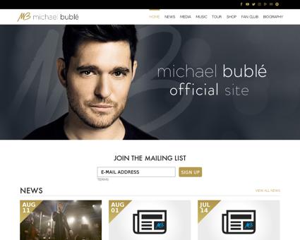 michaelbuble.com Michael
