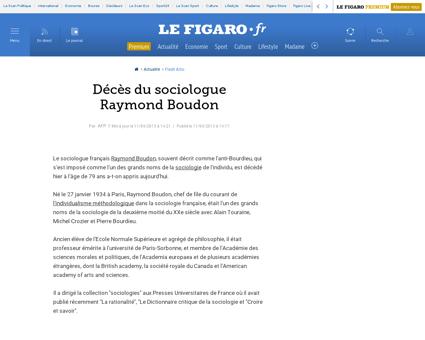 Raymond BOUDON