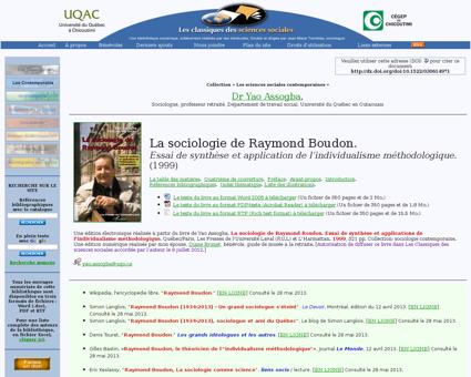 Socio raymond boudon Raymond