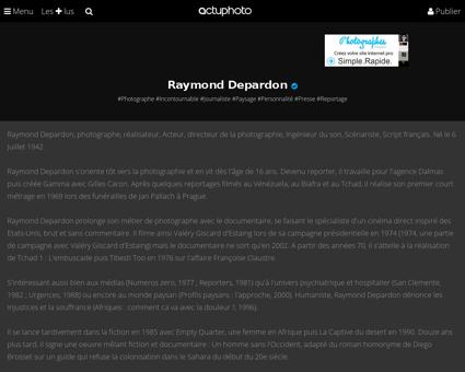 Raymonddepardon Raymond