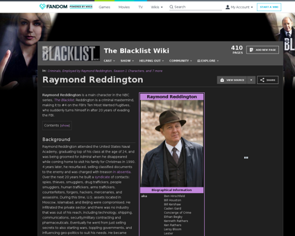 Raymond Reddington Raymond