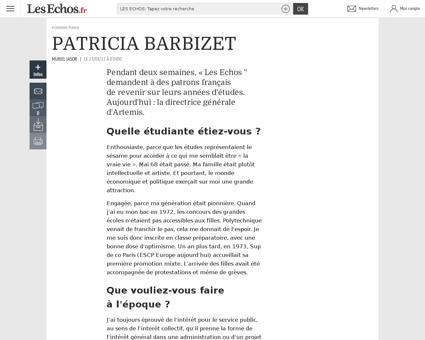 0202238865705 patricia barbizet 357230 Patricia