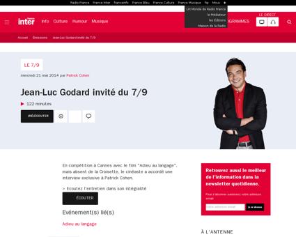 Le 7 9 21 mai 2014 Quentin