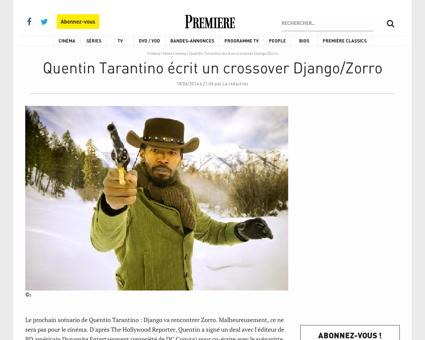 1994 Quentin Tarantino fait un doigt d h Quentin