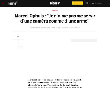 Marcel OPHULS