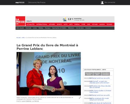Perrine LEBLANC
