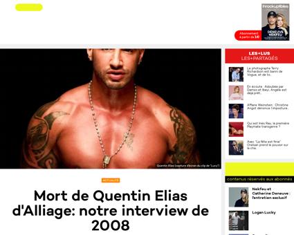 Mort de quentin elias interview 11481853 Quentin