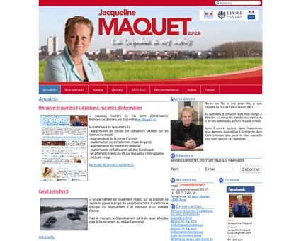 Jacquelinemaquet2012.fr Jacqueline