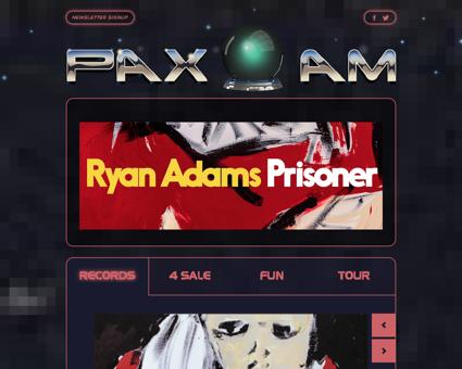 Paxamrecords.com Ryan